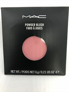 MAC Powder Blush~LOVECLOUD~Bright Pink-Pro Refill Pan Discontinued Rare GLOBAL!