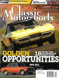 Classic Motorsports Magazine Corvair Porsche Project Shelby Engine Vignale