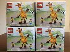 "(4) LEGO 40228 TOYS ""R"" US EXCLUSIVE GEOFFREY AND FRIENDS BUILDING TOYS!!! LOT!!"