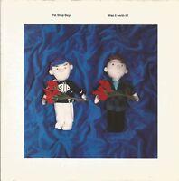 Pet Shop Boys - Was It Worth It? 1991 7 inch vinyl single