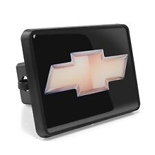 """Chevrolet Golden Bowtie ABS Plastic 2"""" Plug Tow Hitch Cover"""