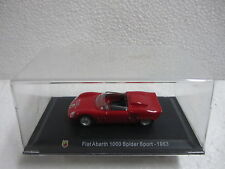 Fiat Abarth 1000 Spider Sport - 1963 -ESC-1/43-ABARTH COLLECTION -HACHETTE -CARS