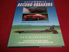 Book. Automobile Record Breakers Signed by Richard Noble From Rocket to Road Car