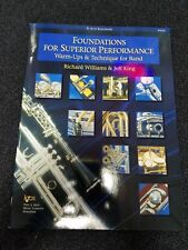 Foundations For Superior Performance Alto Saxophone