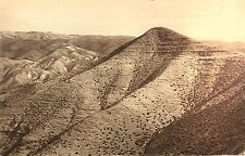 Vintage Postcard: Mountains in the Judean Desert, Israel ca. 20s