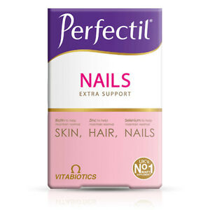Vitabiotics Perfectil Plus Nails Extra Support 60 Tablets Skin Hair & Nails