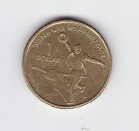 2005 Australia $1 Coin World War 1939-1945 Peace G-180