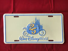 Disney License Plate- Cinderella Carriage 25 New Sealed