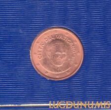 Vatican 2007 1 Centimes D'Euro FDC BU 85 000 exemplaires Provenant du BU RARE -