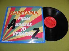 Santana - From Abraxas To VeracruZ RARE Promo 1987 Netherlands CBS SAMP 1123 LP