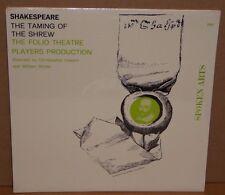 Shakespeare Taming Of The Shrew Folio Theatre SEALED vinyl record LP spoken arts