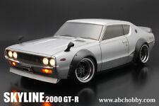 ABC HOBBY RC 1/10 SKYLINE 2000GT-R BariBari CUSTOM!! Clear Body Drift 66133