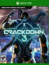Crackdown 3 Xbox One, XB1 Brand New Factory Sealed Physical Version