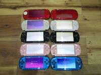 Sony PSP 3000 Lot of 10 Console Silver Red Blue White Pink Japan o57