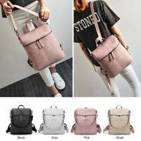 Women Girls Anti-theft Backpack Travel Handbag Rucksack Shoulder School Bag ILC