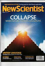 NEW SCIENTIST Magazine 4 August 2012 - Collapse Of Civilizations
