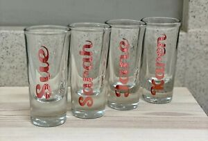 Personalised shot glass, Hen Party, Stag Party, Celebration