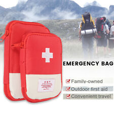 First Aid Bag Portable Outdoor Travel Medicine Package Emergency Carry Pouch Bag