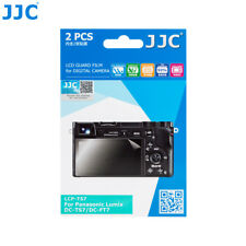 JJC 2PCS LCD Guard Film Screen Protector for PANASONIC LUMIX DC-TS7 DC-FT7