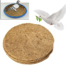 Pigeon Supplies Plastic Dehumidification Bird Egg Basin Nest Bowl Grass Mat New