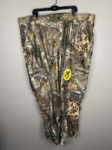 Browning XPO Pre-Vent 3XL Hunting Pants Waterproof Windproof Mossy Oak NEW NWT
