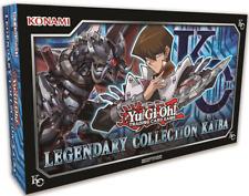 YUGIOH Legendary Collection KAIBA SET (3 MEGA Booster Packs 5 PROMO +Game Board)