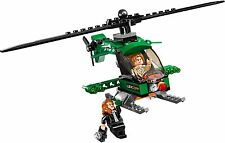 LEGO DC COMIC 76046 MINIFIGURE - LEX LUTHOR + HELICOPTER ONLY - BRAND NEW LOOSE