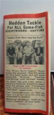 1938 Vintage Heddon Pocket Catalog