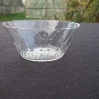 coupelle : rince bouche en cristal de baccarat modèle écaille