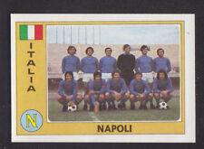 Panini - Euro Football 76/77 - # 135 Napoli - Italia