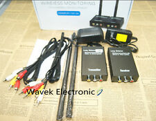 2.4GHz 3W Wireless AV Sender Camera CCTV  Audio&Video Transmitter & Receiver