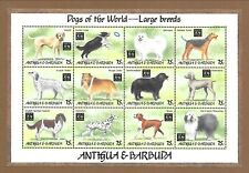 ANTIGUA Sc 1783 NH MINISHEET of 1994 - DOGS