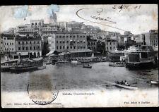 CONSTANTINOPLE (TURQUIE) VILLAS & BATEAUX / GALATA avant 1904