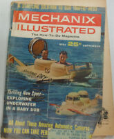 Mechanix Illustrated Magazine Underwater In A Baby Sub September 1962 050515R