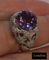 10.6 ct PURPLE AMETHYST RING
