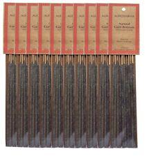 Auroshikha Loban/Sambrani Incense Sticks, (100 long sticks) - Set of 10