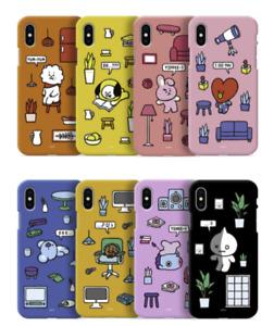 BT21 Roomies Series Color Soft Jelly Case Official Kpop Goods LINEFRIEND GCASE