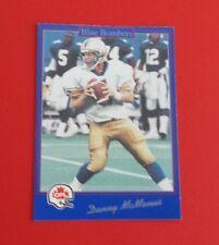 1991 Jogo CFL Football Danny McManus Card #143***Winnipeg Blue Bombers***