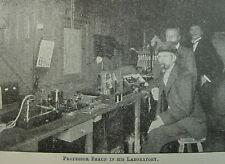 1904 Story of Wireless Telegraphy Spark Gap Marconi Telegraph Tube Radio Book