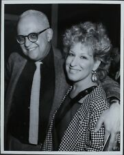 George Christy (Reporter), Bette Midler ORIGINAL PHOTO HOLLYWOOD Candid 2652