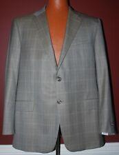 """Hickey Freeman """"Beacon"""" 100% Worsted Wool Sport Coat Jacket 46R NWT"""