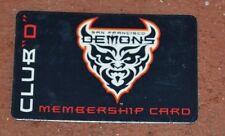 "VERY RARE XFL SAN FRANCISCO DEMONS CLUB ""D"" MEMBERSHIP 2001 CARD ONLY 1 ON EBAY"