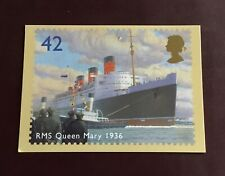 Ocean Liners - 2004 - RMS Queen Mary 1936 - PHQ Card