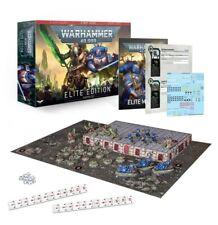 Warhammer 40,000 Space Marines Necrons Starter Set Elite Edition Complete Game
