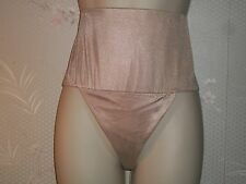 2 Pair Hanes Her Way Satin Thong. Body Shaper. (XX-Large Beige) New With Tags