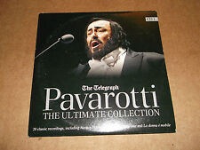PAVAROTTI THE ULTIMATE COLLECTION CD1 ~ THE TELEGRAPH PROMO CD ALBUM EXCELLENT