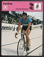 DANIEL MORELON French Cycling Track Racing 1977 SPORTSCASTER CARD 03-10