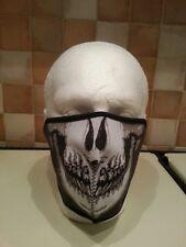 Neoprene Skull Half Face Mask