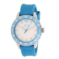 Lacoste señoras de la luz azul reloj de moda 2000660 Nuevo Analógico De Acero Inoxidable Accesorio