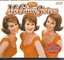 THE McGUIRE SISTERS - ALL THE HITS & MORE - NEW SEALED 3 CD BOX SET - 48 SONGS